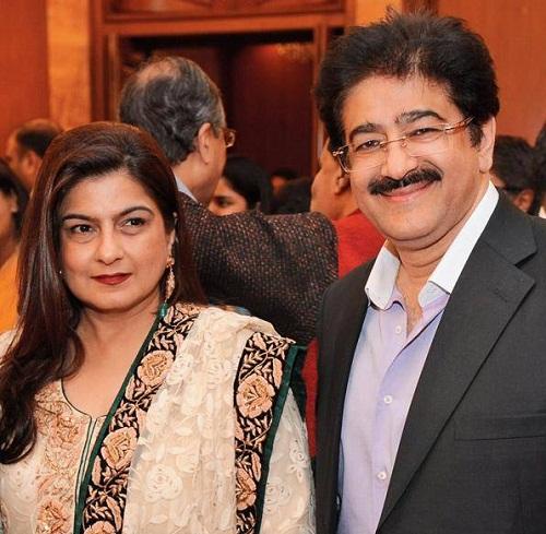 Anil Kapoor Reena Kapoor (Married to film producer Sndeep Marwah)