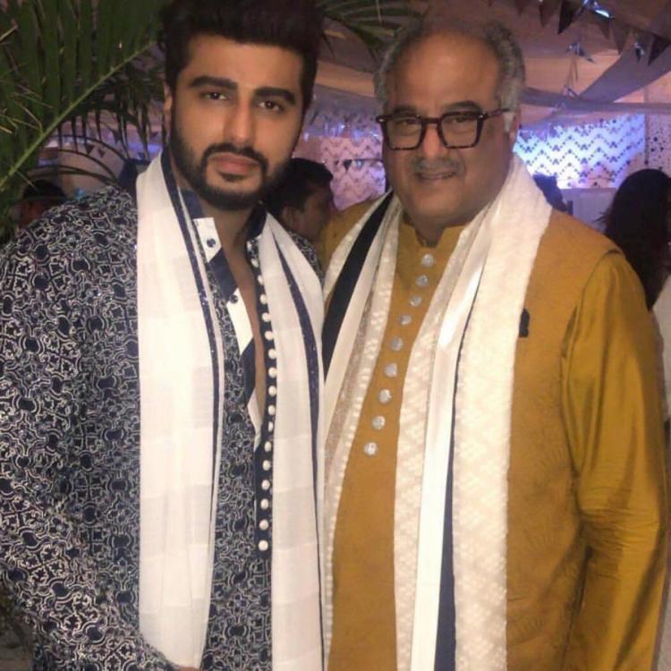Boney Kapoor and Arjun Kapoor