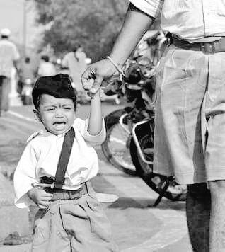 Childhood Image of Arnab Goswami