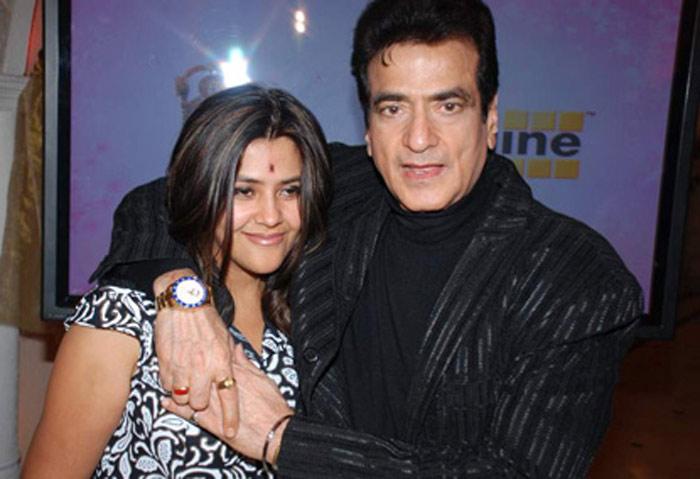 Ekta Kapoor and Jeetendra