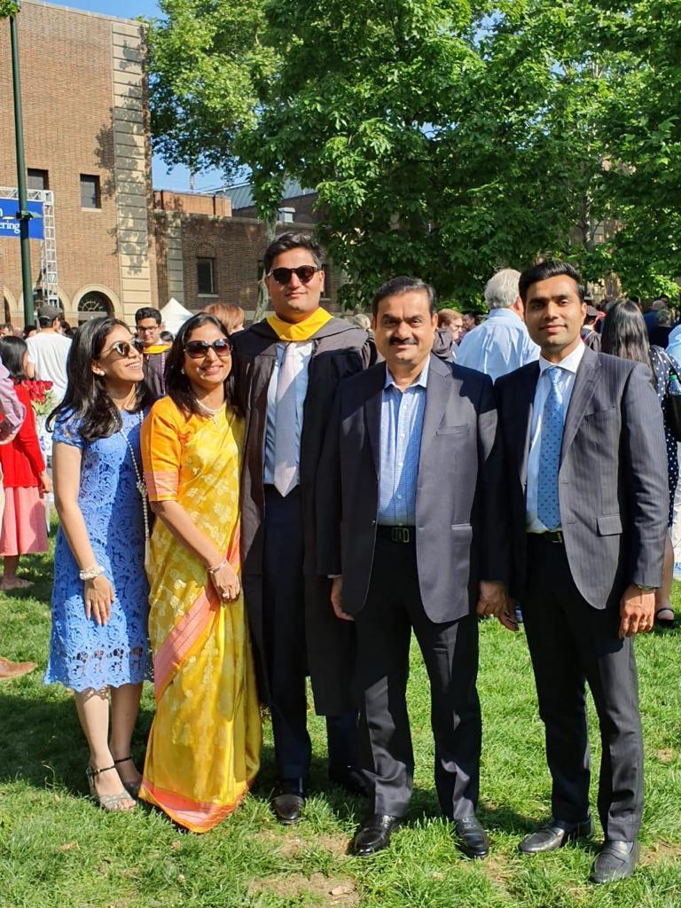 Gautam Adani Family: