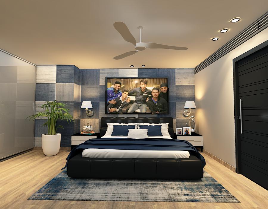 Hardik Pandya House (living):