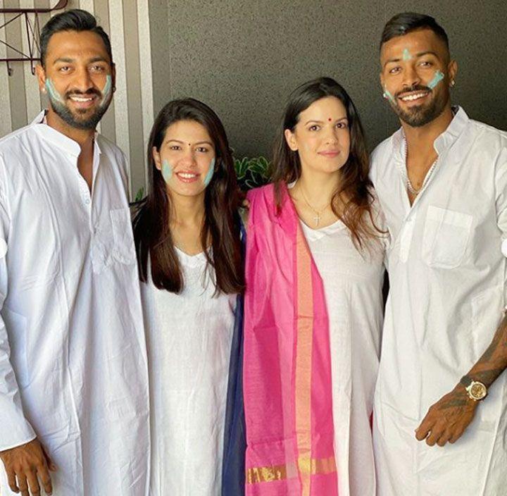 Hardik Pandya (8) Family: