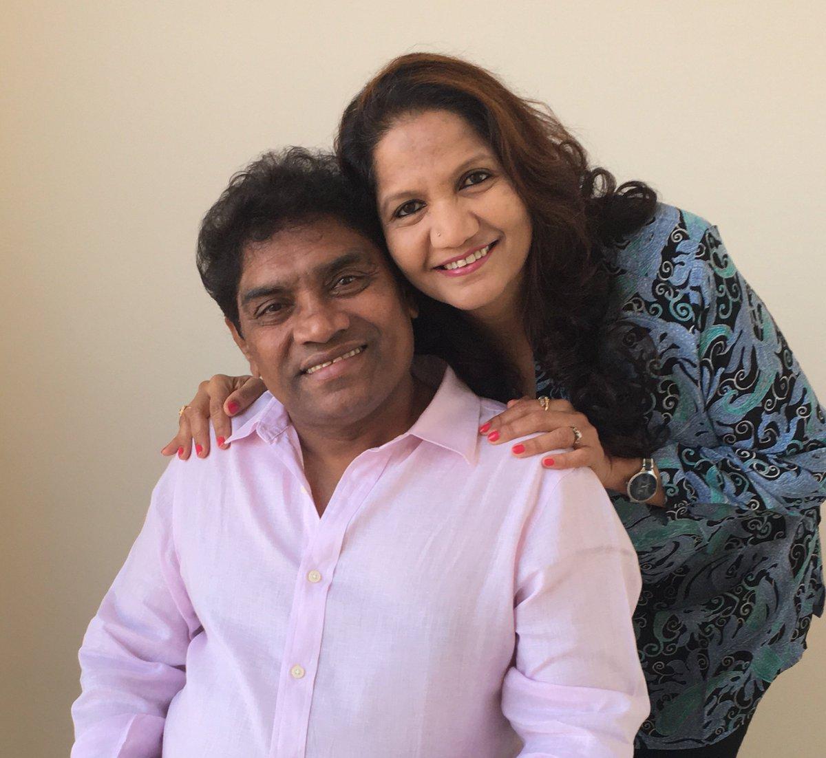 Johnny Lever and Sujatha Johnrao