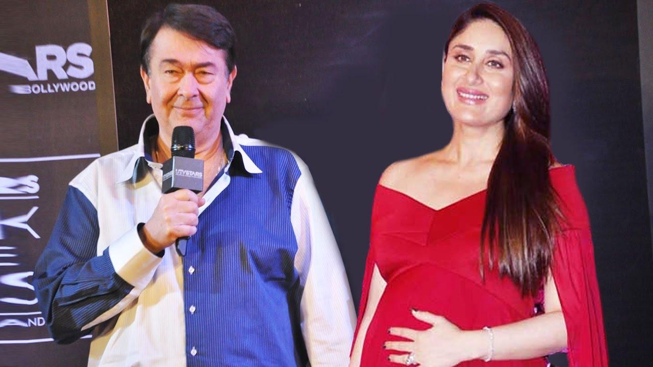 Kareena Kapoor Khan Father :-Randhir Kapoor( Renowned Bollywood Actor)