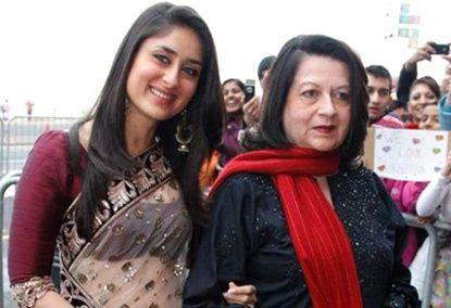Kareena Kapoor Khan Mother :-Babita ( Bollywood Actress)