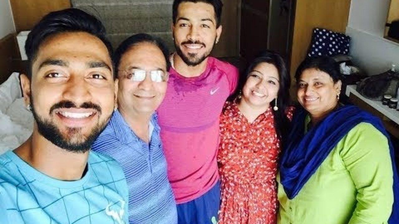 Krunal Pandy Family: