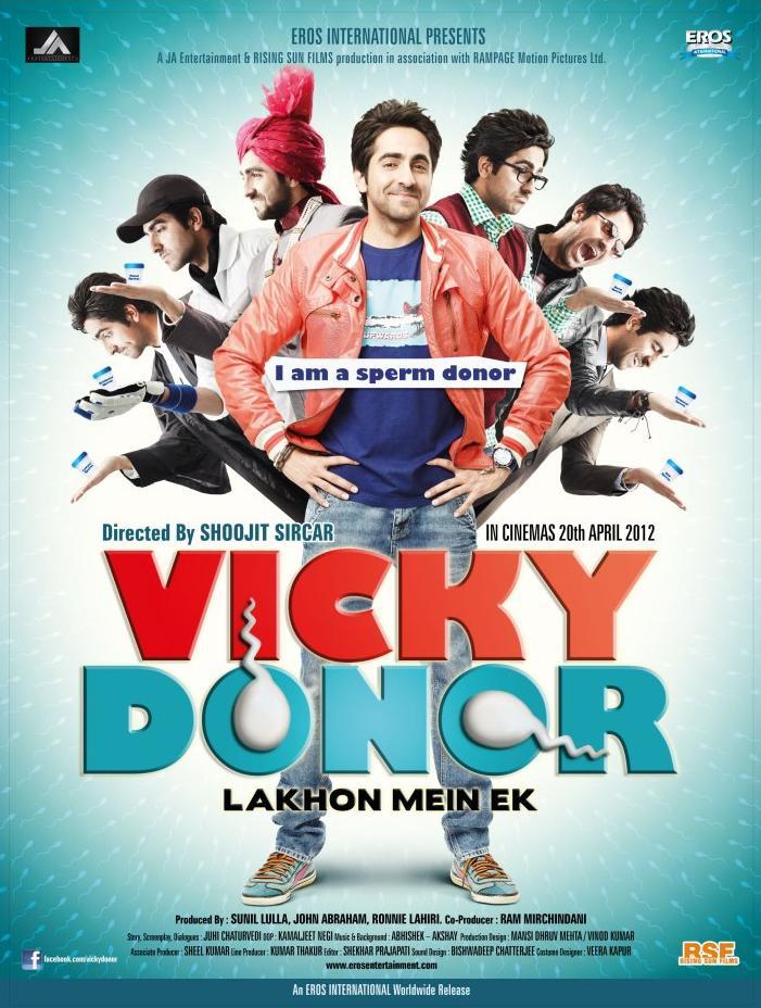 Bollywood Film (as a producer) - Vicky Donor (2012)
