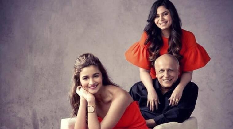 Mahesh Bhatt and Shaheen Bhatt, Alia Bhatt