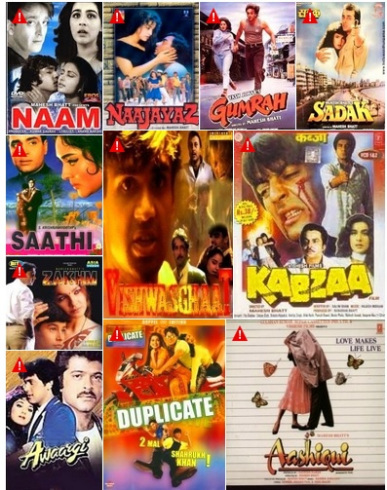 Mahesh Bhatt Contribution as a Director or Producer (year 1974-2020):