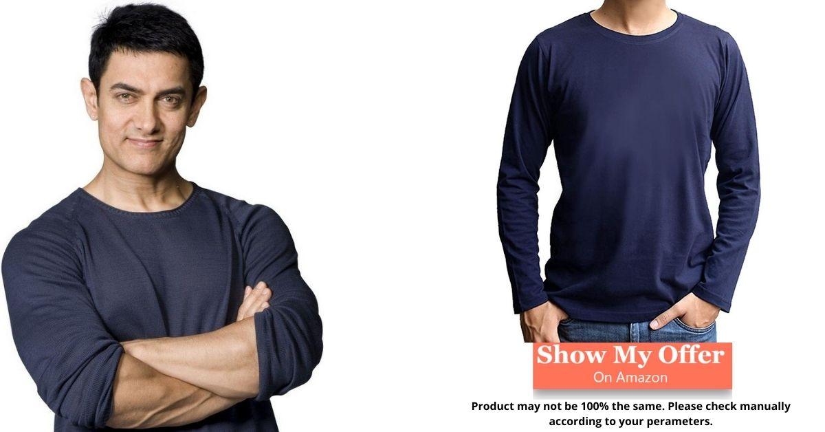 Aamir khan in T-shirt