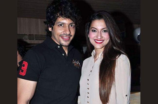 Nihar Pandya and Gauhar Khan