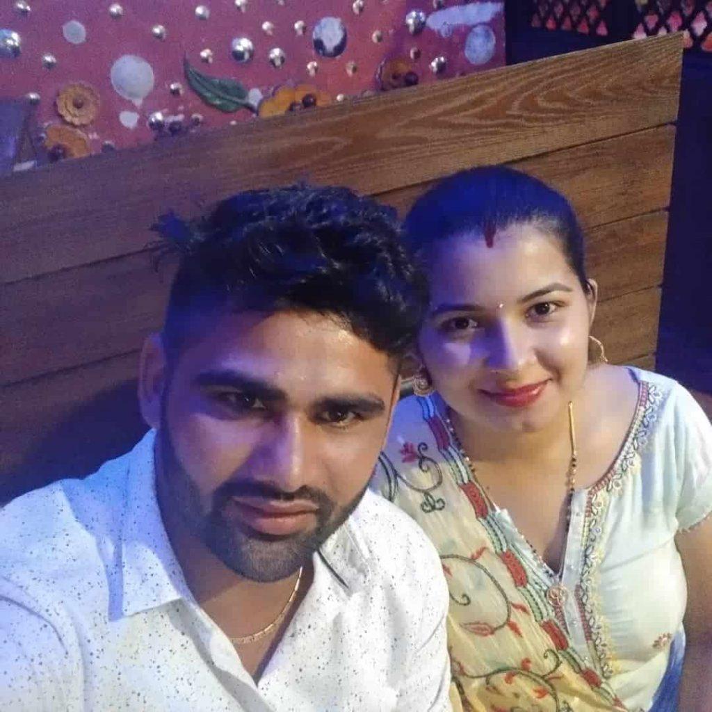 Pardeep Narwal Wife :-Swati Beniwal (November 9, 2019)