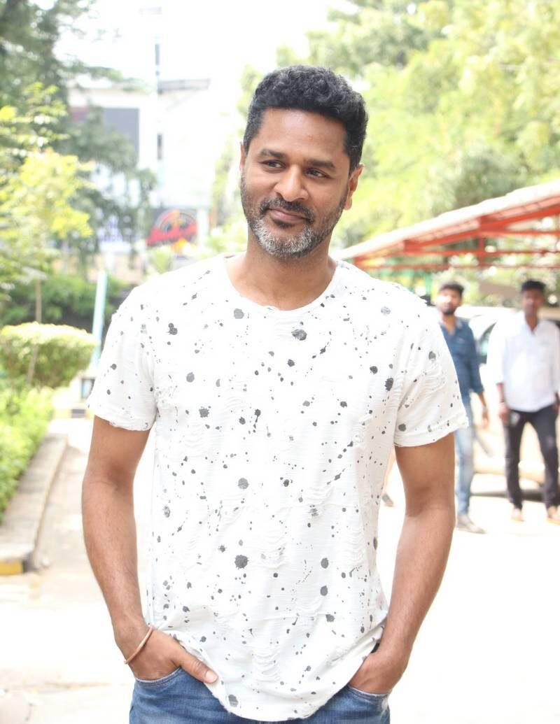 Prabhu Deva in white shirt