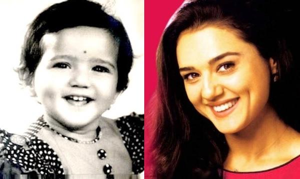 Preity Zinta childhood