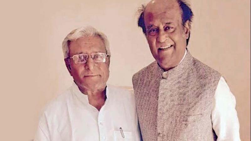 Rajinikanth and Satyanarayana Rao