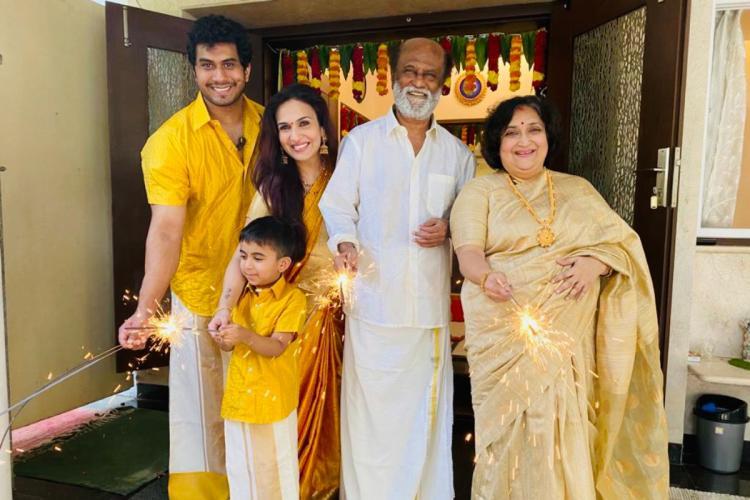 Rajinikanth Family