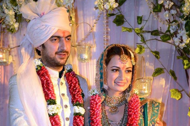 Sahil Sangha Wife :- Dia Mirza (Actress)