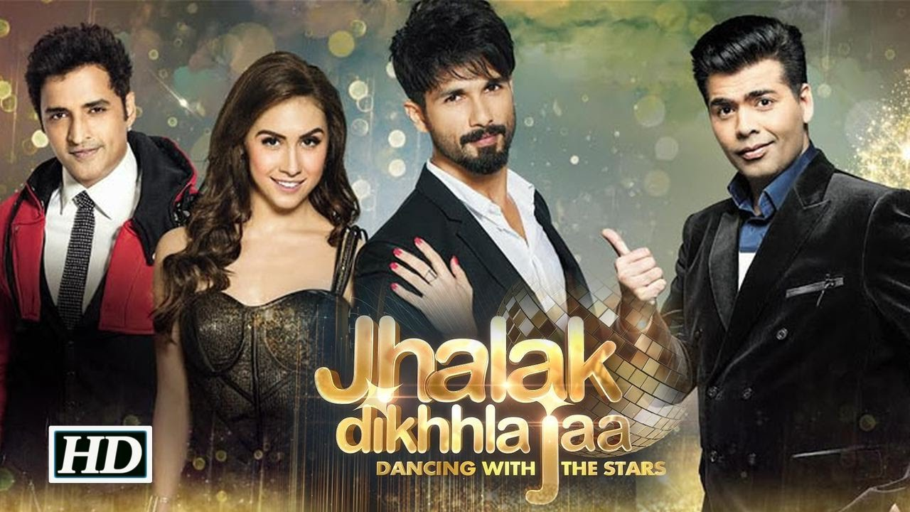 Shahid Kapoor and Jhalak Dikhhla Jaa Reloaded