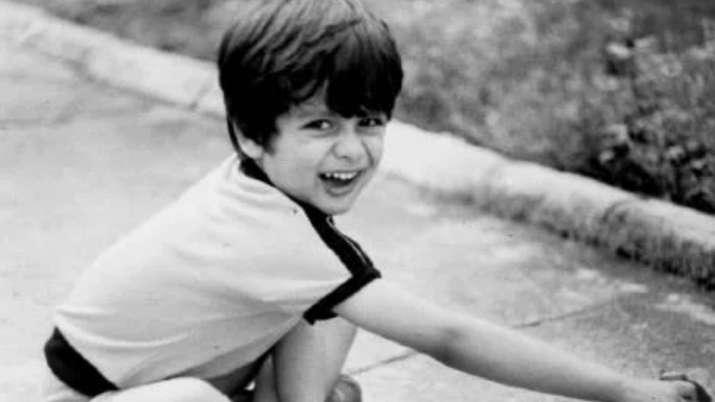 Childhood Image of Shahid Kapoor