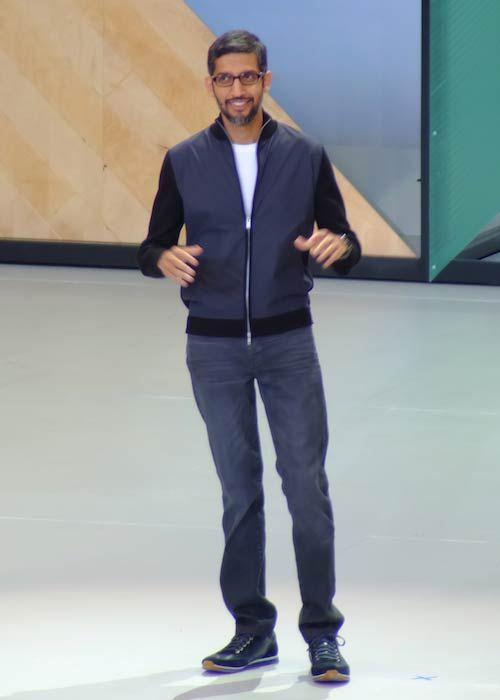 Sundar Pichai's Body Measurements, Height, & Weight: