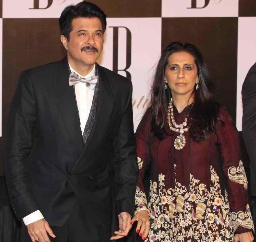 Sunita BhambhaniKapoor (Costume Designer, wife)