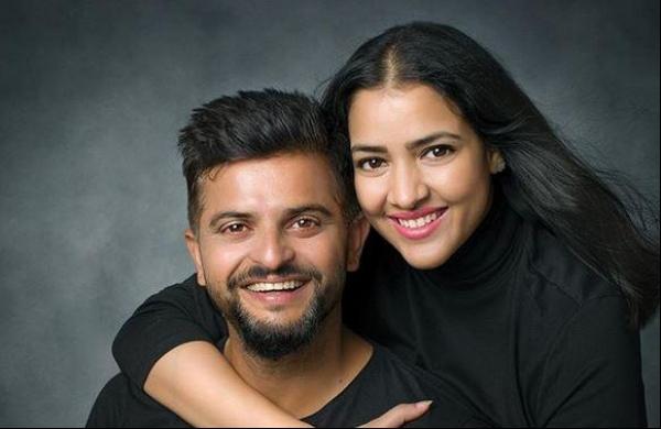 Suresh Raina and wife Priyanka Chaudhury ( In 2015 to present)