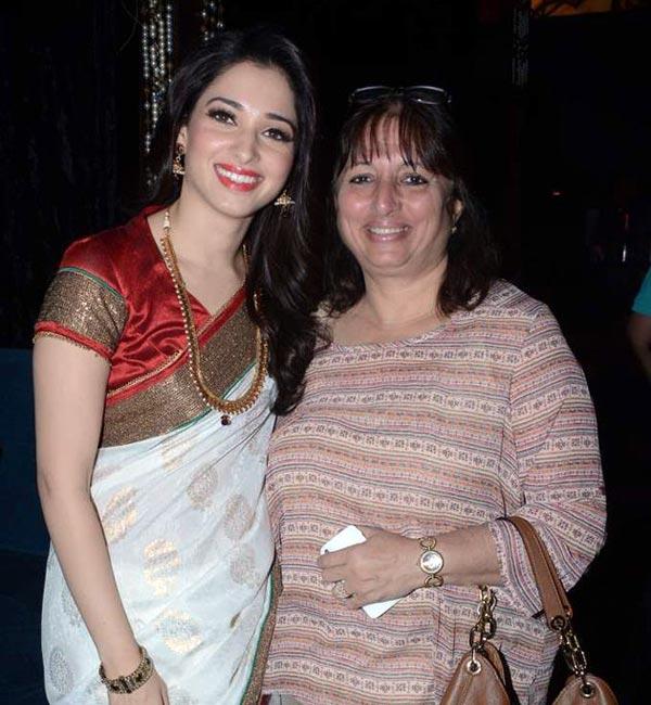 Tamannaah Bhatia Mother :- Rajani Bhatia
