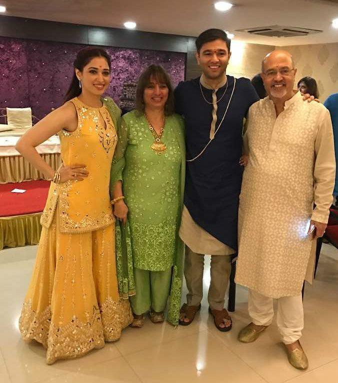 Tamannaah Bhatia Family: