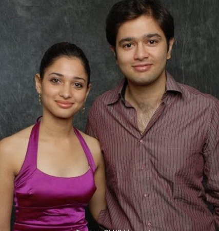 Tamannaah Bhatia Brother (s) :-Anand Bhatia
