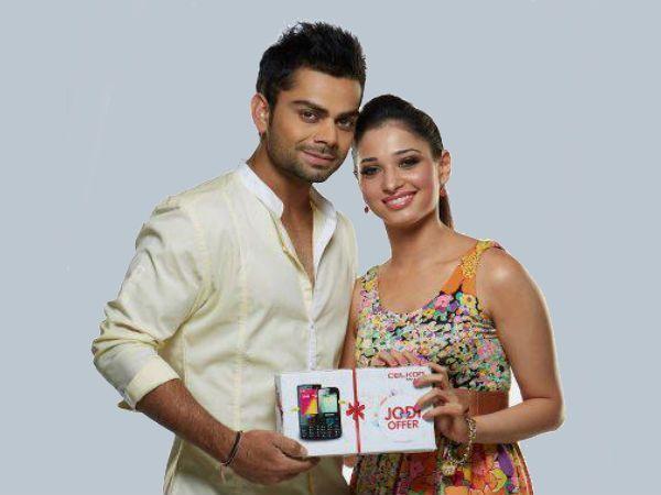 Tamannaah Bhatia Affair :-Virat Kohli (Cricketer)