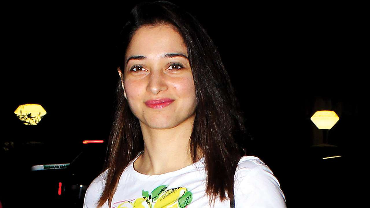 Tamannaah Bhatia Image With Smiling
