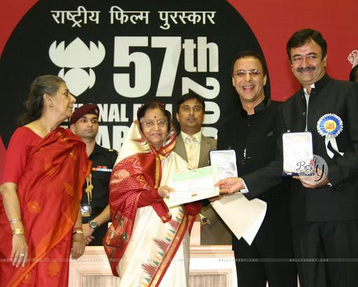 Vidhu Vinod Chopra Awards and Achievements: