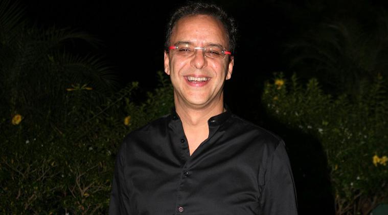 Vidhu Vinod Chopra smiling