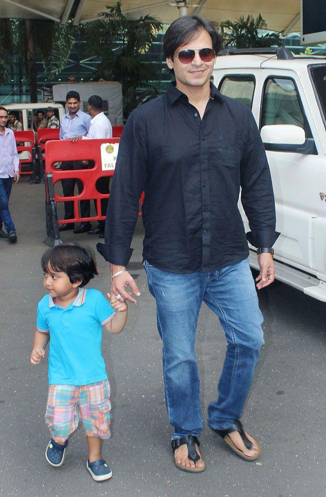 Vivek Oberoi Vivaan (born in 2013)