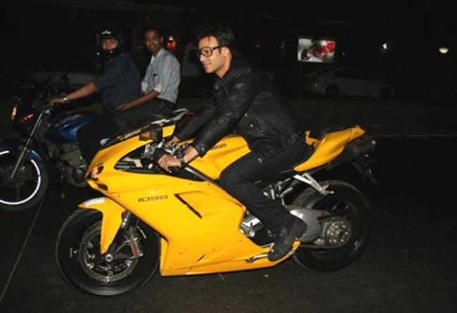 Vivek Oberoi Bike Collection: