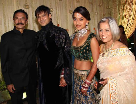 Vivek Oberoi Family: