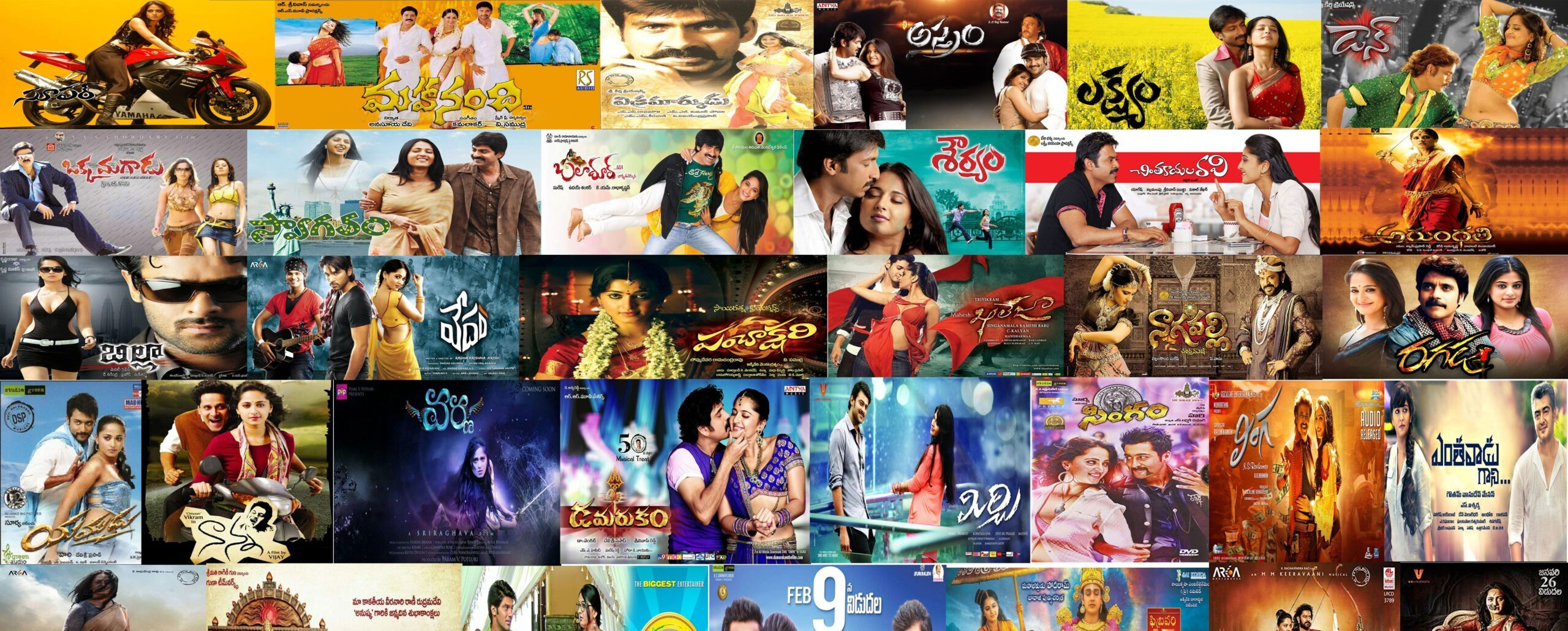Worked in Films (year 2005-20):