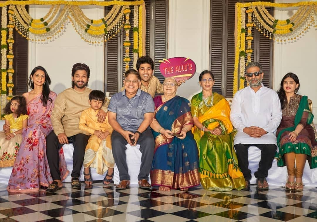 Allu Arjun Family: