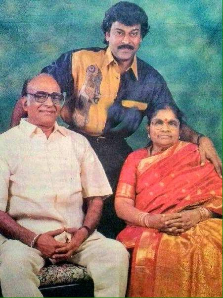 chiranjeevi father and mother