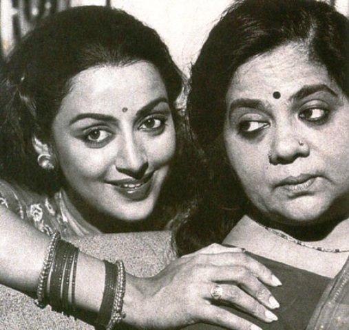 hema malini and Jaya Chakravarthy