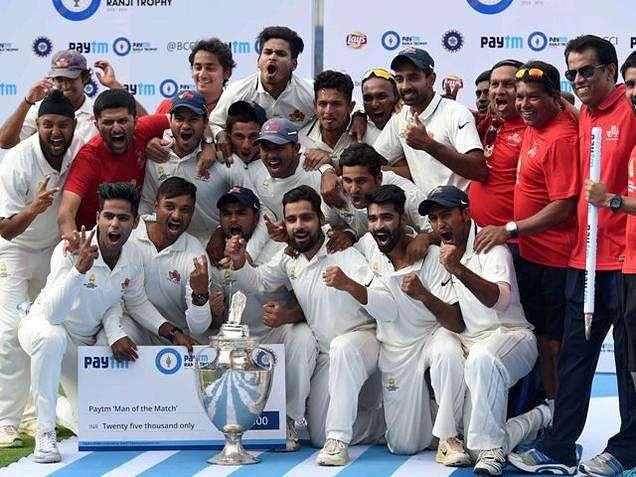 Ranji Trophy tournament in 2016