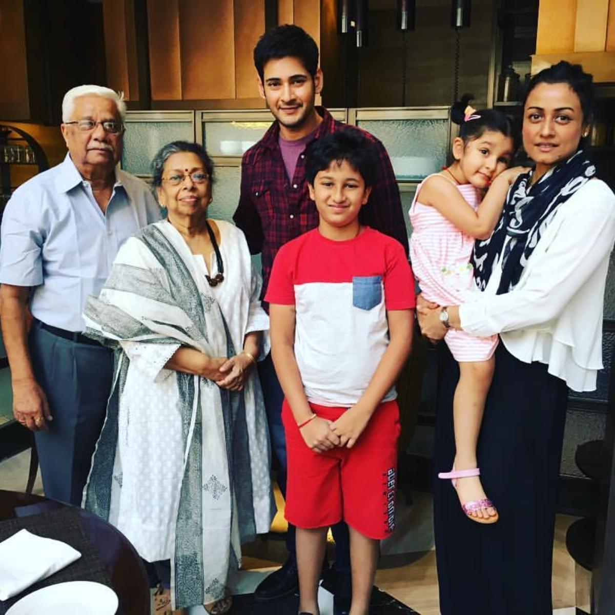 _mahesh_babu Family: