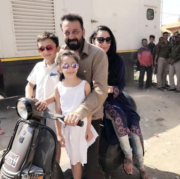 sanjay dutt Family: