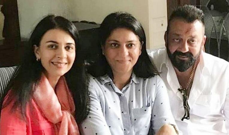 sanjay dutt and Priya Dutt, Namrata Dutt