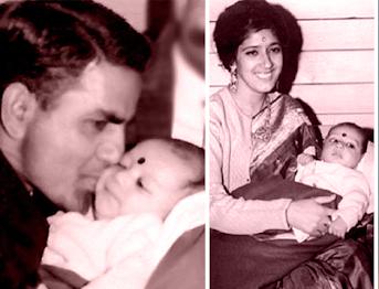 Preity Zinta parents