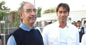 Ajay Devgan's Father :- Veeru Devgan ( Renowned Action Film Director)
