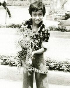 Childhood Image Ajay Devgan