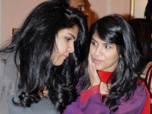 Anand Mahindra's daughters Aalika Mahindra | Divya Mahindra