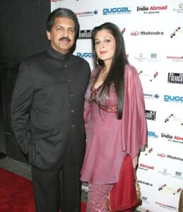 Anand Mahindra's wife Anuradha Mahindra